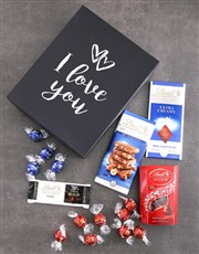 I Love You Lindt Chocolate Box