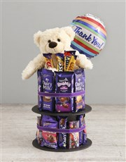 Cadbury Gratitude Chocolate Tower And Balloon
