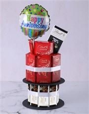 Cadbury Anniversary Chocolate Tower And Balloon