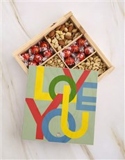 Love You Fruit And Nuts Treasure Box