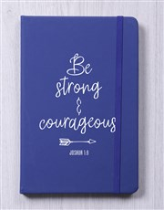 Be Srong And Courageous Journal