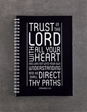 Trust In The Lord Notebook Set