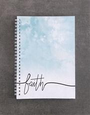 Live By Faith Notebook Set