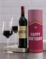 Happy Birthday Wine Tube