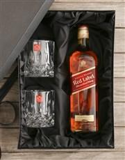 Johnnie Walker Red Gift Set