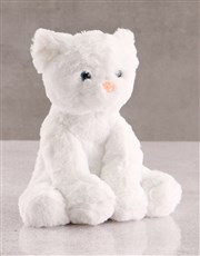 Kitty Cat Teddy With Chocolate Tray Hamper