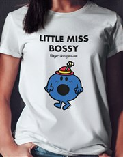 Little Miss Bossy Ladies T Shirt