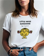 Little Miss Sunshine Ladies T Shirt