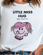 Little Miss Hug Ladies T Shirt