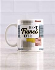 Best Fiance Mug and Choc Hamper