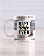 Best Wife Mug and Choc Hamper