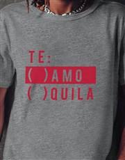 Te Amo Quila Grey Tshirt