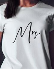 Mrs White Tshirt