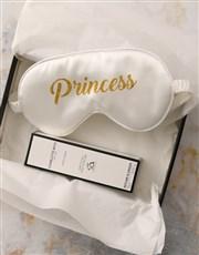 White Princess Eye Mask Hamper