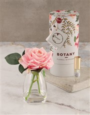 Silk Flower Diffuser Small Pink Classic Rose