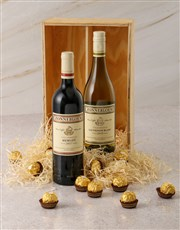 Zonnebloem and Ferrero Rocher Gift Box