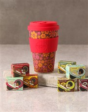 Pink Floral Travel Eco Cup