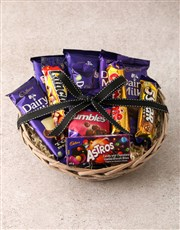 Cadbury Chocolate Basket Hamper
