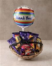 Cadbury Thank You Basket Hamper