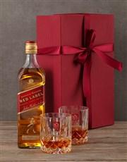 Johnnie Walker Red Gift Box