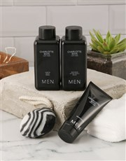 Hello Handsome Mens Grooming Gift Crate