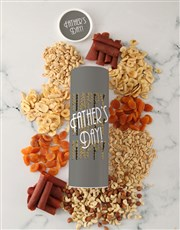 Fathers Day Fruit And Nut Tube