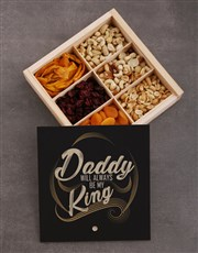 Fathers Day My King Fruit And Nut Crate