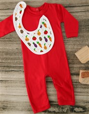 Freshly Grown Red Baby Outfit