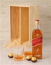 Johnnie Walker Red Label Crate