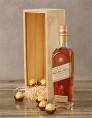 Johnnie Walker Gold Label Reserve Crate