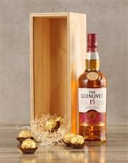 Glenlivet Fifteen Year Crate