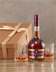 Courvoisier VS Cognac Set
