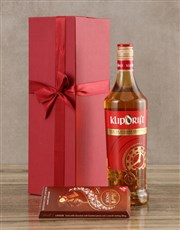 Klipdrift Export Brandy Set