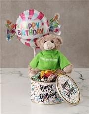 Happy Birthday Treat Tin