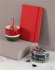 Watermelon Pen Holder Set