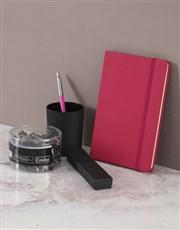 Parker Pen Pink Gift Set