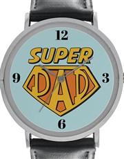 Digitime 40mm Super Dad Watch Stainless Steel Watc
