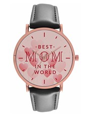Digitime 36mm Best Mom in the World  Watch Stainle