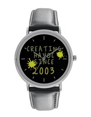 Digitime 40mmCreating Havoc Since... Stainless Ste