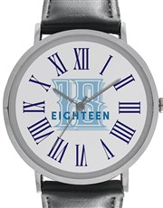 Digitime 40mm Offically 18 Eighteen Personalised S