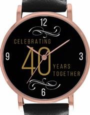 Personalised Golden Years Watch