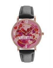 Personalised Be My Valentine Digitime Watch