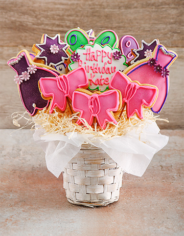 cookies-and-biscuits: Princess Party Birthday Cookie Bouquet!