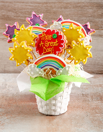 cookies-and-biscuits: Have a Great Day Cookie Bouquet!