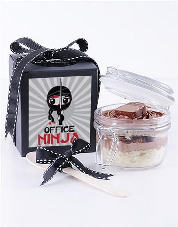 secretarys-day: Office Ninja Bar One Cupcake Jar!