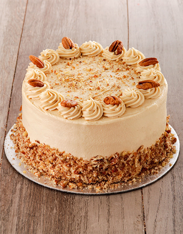 cakes: Coffee and Pecan Nut Cake with Coffee Icing 20cm!