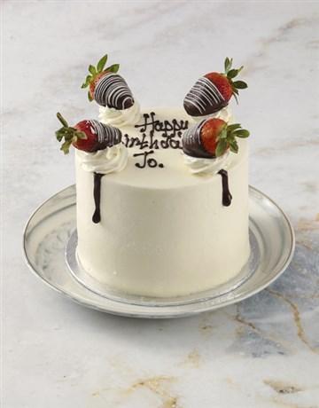 cakes: Strawberries and Cream Cake!