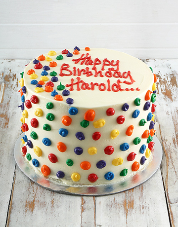 cakes: Rainbow Cake!