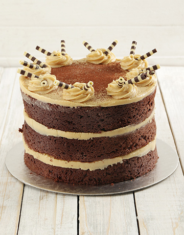 cakes: Coffee and Chocolate Naked Cake 20cm!