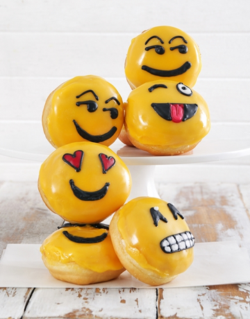 bakery: Emoji Doughnuts!